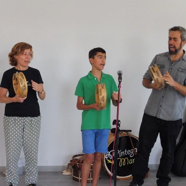 Clases de canto y pandereta en Madrid