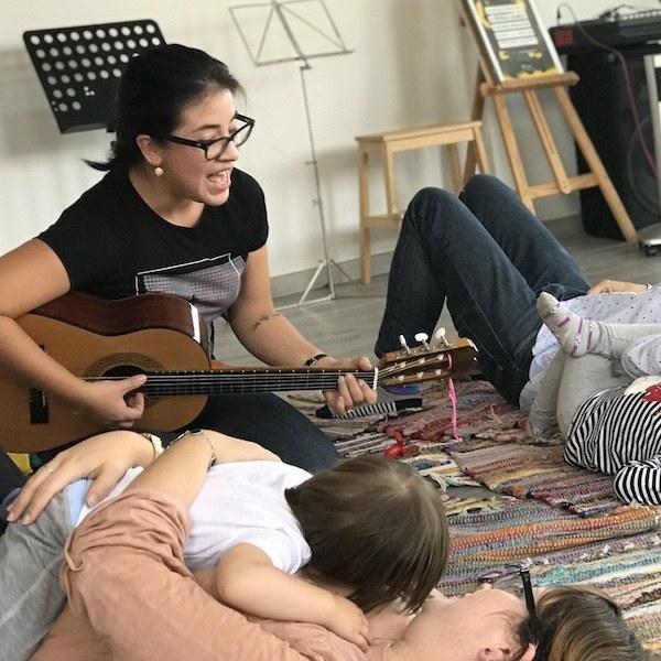Clases de musica para bebes en Madrid